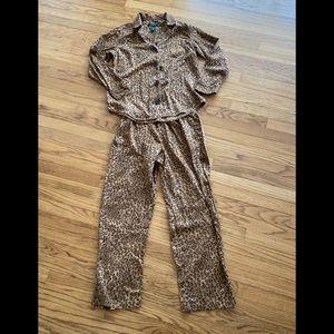 Ralph Lauren animal print pajamas